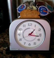 Toaster Clock Battery Operated #1215-02