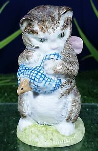 BESWICK BEATRIX POTTER MISS MOPPET BP1 (1ST VERSION) GOLD EXTREMELY RARE