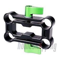 Lanparte HRC-01 Height Riser Clamp 15mm Rod/Rail Raiser for Shoulder Pad / Rig