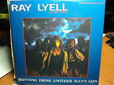 "Ray Lyell & The Storm ""(Running From) Another Man's Gun"" Great Oz PS 7"""