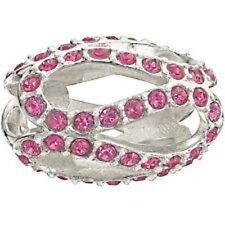 Authentic NEW Chamilia Glistening Meander Pink Bead 2083-0407 - RETIRED!