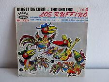 LOS RUFFINO Poinciana Direct de Cuba Cha chaVol 3 EPL 7571 Dessin CHARLES VELLA