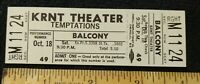 The Temptations Concert Ticket 1969 KRNT Theater