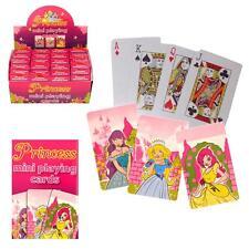 Geburtstagsparty Gastgeschenk / Pinata Füllung - 8 x Mini Prinzessin Spielkarten