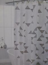 "Threshold Faux Shibori Fabric Shower Curtain 72"" x 72"" NIP"