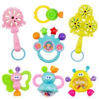 7pcs/set Hand Shake Bell Rattles Educational Toys Gift For Infant Baby Toddler