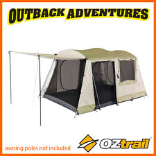 OZTRAIL SUNDOWNER 6P DOME FAMILY TENT 2 ROOM CAMPING 6 PERSON NEW MODEL