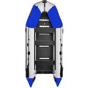 BARK Schlauchboot für Motor mit Kiel u. Festenboden 2.9m-4.5m Schiebesitz PROFI