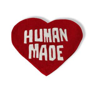 New Custom Bape Nigo Human Made Heart Logo Indoor Floor Door Mat Rug Carpet Red