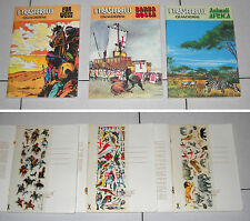 Serie 3 Quaderni I TRASFERELLI Far West Barbarossa Animali Africa 77 Calcarelli