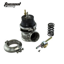 GT II 60MM Adjustable Turbo Wastegate Black- V BAND For 1jzgte / SR20DET