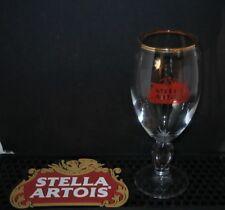 Single Stella Artois  Chalice Half Pint Glass  CE Stamped HALF Pint M16