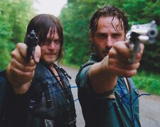 The Walking Dead (Norman Reedus & Andrew Lincoln) signed 8x10 photo
