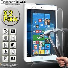 """2 Pack Tempered Glass Screen Protector For CHUWI Hi8 Pro 8.0"""" Teblet"""