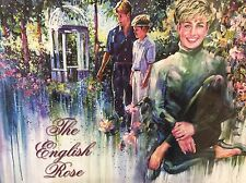 """DIANA New Lady DI Puzzle """"THE ENGLISH ROSE"""" By REBECCA Hardin SEALED!!!"""