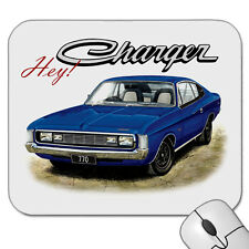 VALIANT VH  CHARGER  770        MOUSE PAD    ( 7  CAR COLOURS )