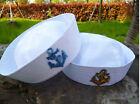 Kids Girl Boy Adult Women white Navy Sailor anchor marine Costume Party Hat Cap