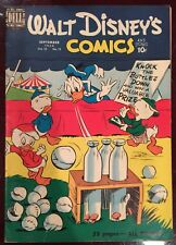 WALT DISNEY'S COMICS & STORIES #120 FVF 7.0 from 1950 Donald Duck