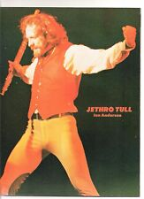 JETHRO TULL Ian in red magazine PHOTO / Pin Up / Poster 11x8 inches
