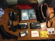 Lot of 3 vintage cameras: Kodak Disc 6000, Instamatic X-15, SONY Cybershot, plus