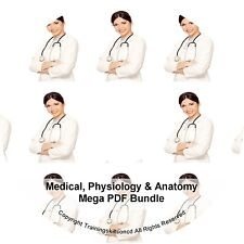 Medical Assistant Physiology Anatomy Terminology Book PDF Manuals on CD