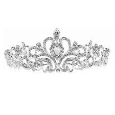 Wedding Bridal Crystal Headband Princess Hair Comb Tiara Bands Crown B6G3