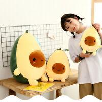 20-60cm Plush Toys Gift Pillow For Kids Cute Soft Avocado Stuffed Dolls
