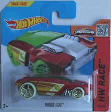 Hot Wheels Rogue Hog rouge Treasure Hunt T-Hunt Nouveau/Neuf dans sa boîte auto car Mattel HW Red