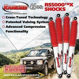 Front + Rear Rancho Shock Absorbers for Toyota Landcruiser 100 IFS WAGON 98-07