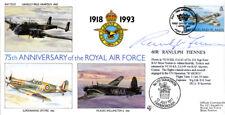 75 cubierta de Ann RAF Islas Malvinas firmado Sir Ranulph Fiennes SAS explorador polar