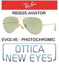 Occhiale da Sole RayBan AVIATOR RB 3025 9064/4C 58mm EVOLVE photo green ray ban