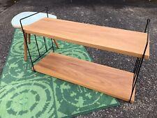 Leiterregal WHB 60er Mid Century mit Metallleitern Vintage Shelf Regal Draht