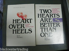 2 Bob Mandel Heart Trilogy Books Heart Over Heels Two Hearts Are Better Than One