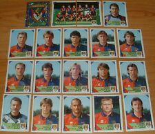 PANINI FOOTBALL CALCIATORI  1993-1994 GENOA COMPLET CALCIO ITALIA