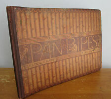 PAN PIPES A Book of Old Songs by Theo Marzials & Walter Crane Illus, 1883 1st Ed