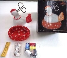 Bird Sewing Kit * Fine Porcelain * Sewing Notions * Thread * Scissors & More