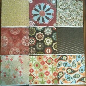 U-choose (1) 12x12 Boho designer papers--sei, Cloud9, We R Memory, Basic Grey