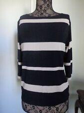 MELA PURDIE 3/4 Sleeve Striped Tops & Blouses for Women