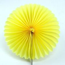 1Pc Wedding Home Party Decor Handmade Pinwheels Flowers Tissue Paper Fan Flowers