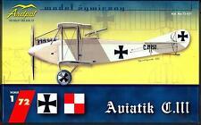 Ardpol Models 1/72 AVIATIK C.III Austrian WWI Scout