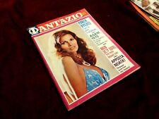 VINTAGE RARE GREEK  FANTAZIO MAGAZINE & POSTER - RAQUEL WELCH - FROM 1973