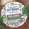 DECO GIFT MAGNETS * Mah Jongg Maven Fridge Magnet Great Gift Idea! USA Pkgd New