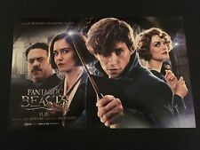 Fantastic Beasts and Where to Find Them 11 X 17 AMC Movie Poster HARRY POTTER