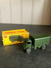 VINTAGE DINKY TOYS 623 ARMY COVERED WAGON