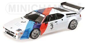 125792903 MINICHAMPS 1:12 BMW M1 MOTORSPORT #3 Didier Pironi Proker 1979