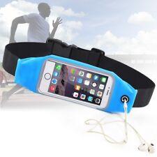 Pochette tour de taille imperméable pochette de sport ESS TECH® Bleu pour IPHONE