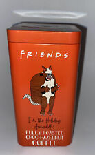 New listing Friends fully roasted choc-hazelnut Coffee in Collectors tin can. Best By May 22