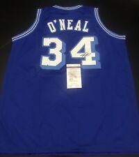 e8346dc314d Shaq Shaquille O'Neal Signed Authentic LA lakers Jersey JSA COA Heat Magic