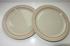 Denby Heritage Veranda Two Dessert/Salad Plates New/Unused -Excellent Condition
