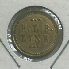 Beaver Falls Pennsylvania PA HTB Line 15 Cents Fare Transportation Token